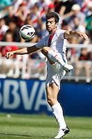 02.09.2012 SPAIN -  La Liga 12/13 Matchday 3rd  match played between Rayo Valelcano vs Sevilla Futbol Club (0-0) at Campo de Vallecas stadium. The picture show Jordi Amar Mass (Spanish player of Rayo Vallecano)