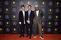 NEW YORK - MAY 18: Charlie Covell, Andy Baker and Dominic Buchanan attend the 78th Annual Peabody Awards at Cipriani Wall Street on May 18, 2019 in New York City. (Photo by Anthony Behar/FX/PictureGroup)