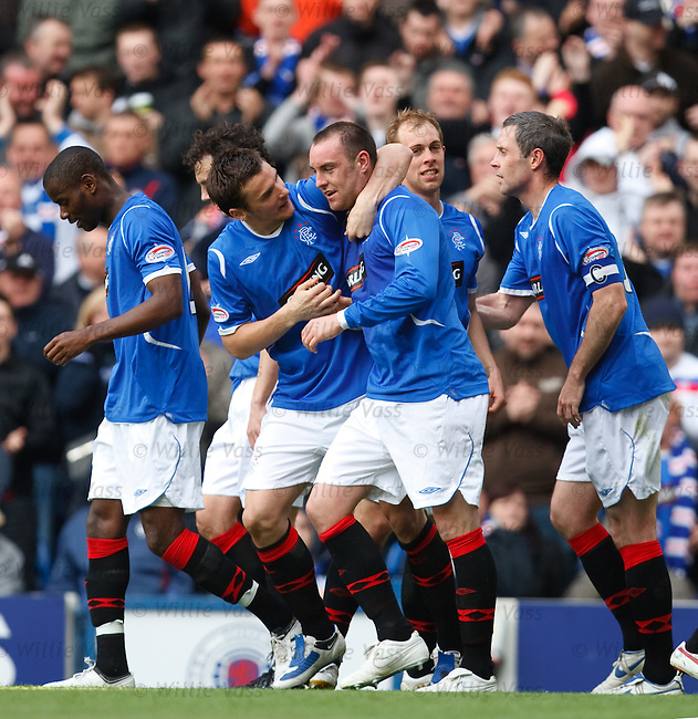 Kris Boyd takes the acclaim for his goal