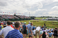 A wide look at the 9th green during Saturday's round 3 of the 117th U.S. Open, at Erin Hills, Erin, Wisconsin. 6/17/2017.<br /> Picture: Golffile | Ken Murray<br /> <br /> <br /> All photo usage must carry mandatory copyright credit (&copy; Golffile | Ken Murray)