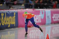 SCHAATSEN: HAMAR: Vikingskipet, 11-01-2014, Essent ISU European Championship Allround, 3000m Ladies, Ireen Wüst, ©foto Martin de Jong