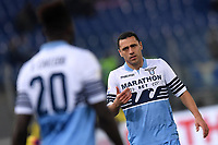 Romulo of Lazio reacts during the Serie A 2018/2019 football match between Lazio and Empoli at stadio Olimpico, Roma, February 7, 2019 <br />  Foto Andrea Staccioli / Insidefoto