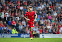 Lucas Leiva of Liverpool in action during the 2016/17 Pre Season Friendly match between Tranmere Rovers and Liverpool at Prenton Park, Birkenhead, England on 8 July 2016. Photo by PRiME Media Images.