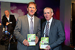 Jack O'Connor, Kerry  Minor Team Manager and former Kerry Senior Team Manager  with Colm McEvoy, ETB CEO at the Kerry ETB  Education, Training and Opportunities fair  at the Brandon Hotel on Thursdayat the Kerry ETB  Education, Training and Opportunities fair  at the Brandon Hotel on Thursday