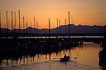 Shilshole Marina gateway to Puget Sound