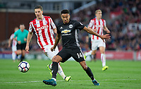 Jesse Lingard of Man Utd during the Premier League match between Stoke City and Manchester United at the Britannia Stadium, Stoke-on-Trent, England on 9 September 2017. Photo by Andy Rowland.