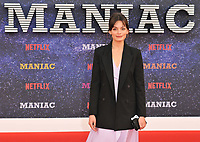Emma Mackey at the &quot;Maniac&quot; UK TV premiere, BFI Southbank, Belvedere Road, London, England, UK, on Thursday 13 September 2018.<br /> CAP/CAN<br /> &copy;CAN/Capital Pictures