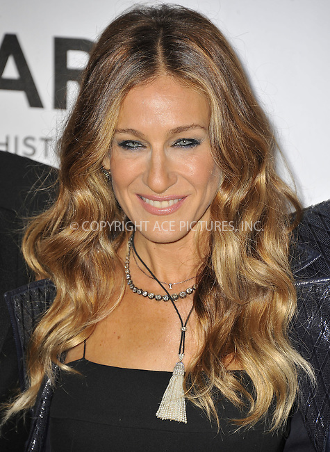 WWW.ACEPIXS.COM....October 11 2012, LA ....Sarah Jessica Parker arriving at the amfAR 3rd Annual Inspiration Gala at Milk Studios on October 11, 2012 in Los Angeles, California. ......By Line: Peter West/ACE Pictures......ACE Pictures, Inc...tel: 646 769 0430..Email: info@acepixs.com..www.acepixs.com