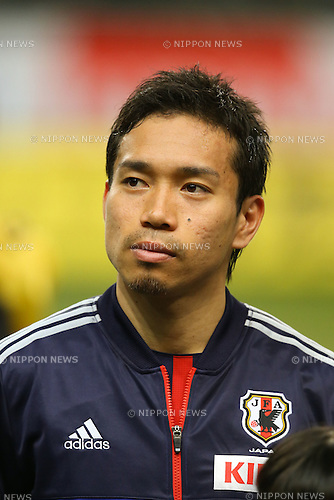 Yuto Nagatomo (JPN), .FEBRUARY 6, 2013 - Football / Soccer : .KIRIN Challenge Cup 2013 Match between Japan 3-0 Latvia .at Home's Stadium Kobe in Hyogo, Japan. .(Photo by Akihiro Sugimoto/AFLO SPORT)