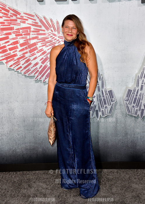 """LOS ANGELES, CA. August 28, 2018: Devin Digonno at the world premiere of """"Peppermint"""" at the Regal LA Live."""