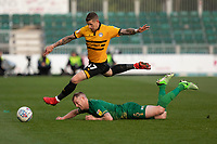 Newport County v Mansfield Town - Play Off SF 1st Leg - 09.05.2019