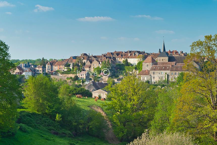 France, Indre (36), le Berry, Saint-Benoît-du-Sault, labellisé Les Plus Beaux Villages de France // France, Indre, Berry region, Saint Benoit du Sault, labelled Les Plus Beaux Villages de France (The most beautiful villages of France)