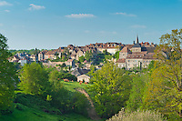 France, Indre (36), le Berry, Saint-Benoît-du-Sault, labellisé Les Plus Beaux Villages de France // France, Indre, Berry region, Saint Benoit du Sault, labelled Les Plus Beaux Villages de France (The most beautiful villages of France)