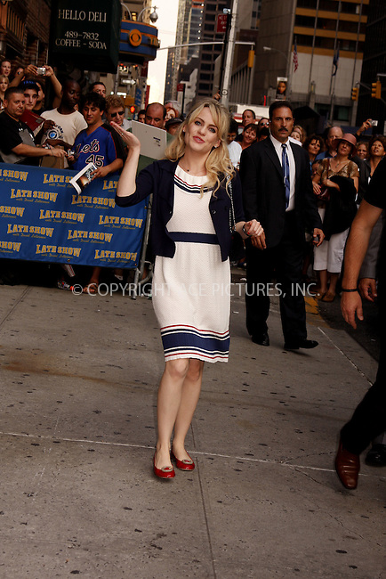 WWW.ACEPIXS.COM . . . . .  ....September 4, 2008. New York City.....Singer Duffy arrives at 'The Late Show with David Letterman' at the Ed Sullivan Theater on September 4, 2008 in New York City.........Please byline: AJ Sokalner - ACEPIXS.COM.... *** ***..Ace Pictures, Inc:  ..Philip Vaughan (646) 769 0430..e-mail: info@acepixs.com..web: http://www.acepixs.com
