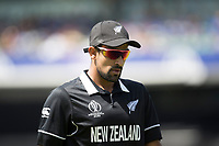 Ish Sodhi (New Zealand) during India vs New Zealand, ICC World Cup Warm-Up Match Cricket at the Kia Oval on 25th May 2019