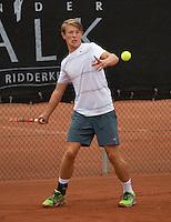 August 8, 2014, Netherlands, Rotterdam, TV Victoria, Tennis, National Junior Championships, NJK,  Siem Fenne (NED)<br /> Photo: Tennisimages/Henk Koster