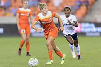 Houston, TX - Thursday Aug. 18, 2016: Ellie Brush during a regular season National Women's Soccer League (NWSL) match between the Houston Dash and the Washington Spirit at BBVA Compass Stadium.