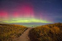 Photos of Northern Lights, Aurora, Upper Michigan