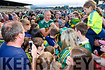 Kieran Donaghy Kerry signs autographs after the GAA Football All-Ireland Senior Championship Quarter-Final Group 1 Phase 3 match between Kerry and Kildare at Fitzgerald Stadium in Killarney, on Saturday evening.