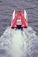 No # USFORA Formula One (F1) Tunnel Boats, Cincinnati, Ohio 1989