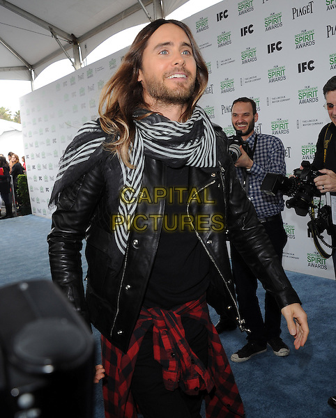 Jared Leto attends The 2014 Film Independent Spirit Awards held at Santa Monica Beach in Santa Monica, California on March 01,2014                                                                                <br /> CAP/DVS<br /> &copy;Debbie VanStory/Capital Pictures