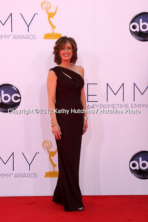 LOS ANGELES - SEP 23:  Anne Sweeney arrives at the 2012 Emmy Awards at Nokia Theater on September 23, 2012 in Los Angeles, CA