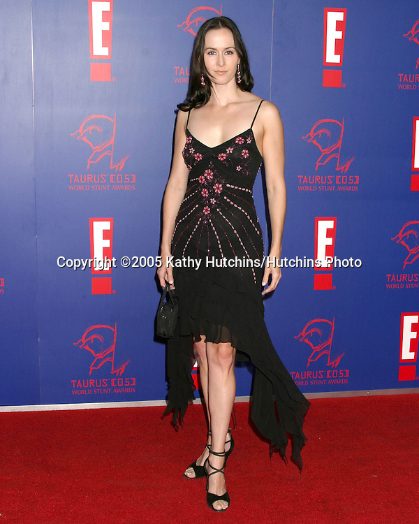 Erin Carufel.World Stunt Awards.Paramount Studios .Los Angeles, CA.September 25, 2005.©2005 Kathy Hutchins / Hutchins Photo