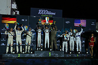 #91 PORSCHE GT TEAM (DEU) PORSCHE 911 RSR GTE PRO RICHARD LIETZ (AUT) GIANMARIA BRUNI (ITA) WINNER LMGTE PRO<br /> #81 BMW TEAM MTEK (DEU) BMW M8 GTE GTE PRO MARTIN TOMCZYK (DEU) NICKY CATSBURG (NLD) ALEXANDER SIMS (GBR) SECOND LMGTE PRO<br />  #67 FORD CHIP GANASSI TEAM UK (USA) FORD GT GTE PRO ANDY PRIAULX (GBR) HARRY TINCKNELL (GBR) JONATHAN BOMARITO (USA)THIRD LMGTE PRO&pound;