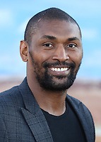 "WESTWOOD, CA - OCT 7: Metta World Peace at the premiere Of Netflix's ""El Camino: A Breaking Bad Movie"" at the Regency Village Theatre on October 7. 2019 in Westwood, California. (Photo by Xavier Collin/PictureGroup)"