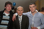 Phillip Flynn at his 21st in the Thatch with his brother and Grandad....(Photo credit should read Jenny Matthews www.newsfile.ie)....This Picture has been sent you under the conditions enclosed by:.Newsfile Ltd..The Studio,.Millmount Abbey,.Drogheda,.Co Meath..Ireland..Tel: +353(0)41-9871240.Fax: +353(0)41-9871260.GSM: +353(0)86-2500958.email: pictures@newsfile.ie.www.newsfile.ie.