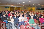 Farmers listen to Dick Spring speech at the Irish Farmers Association  AGM in the Manor West Hotel Tralee on Monday night