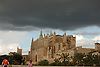 dark rain clouds over the cathedral Santa Mar&iacute;a de Palma de Mallorca<br /> <br /> nubes oscuras sobre la catedral Santa mar&iacute;a de Palma de Mallorca (La Seu, cat.: Sa Seo)<br /> <br /> dunkle Wolken &uuml;ber der Kathedrale Santa Maria de Palma de Mallorca<br /> <br /> 3008 x 2000 px<br /> 150 dpi: 50,94 x 33,87 cm<br /> 300 dpi: 25,47 x 16,93 cm