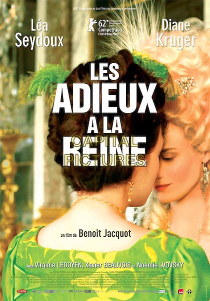 ORIGINAL POSTER ART.in Farewell, My Queen (2012).(Les adieux a la reine).*Filmstill - Editorial Use Only*.CAP/FB.Supplied by Capital Pictures.
