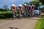 Rabobank Development Team, Stage 2: Team Time Trial, 62th Olympia's Tour, Netterden, The Netherlands, 13th May 2014, Photo by Thomas van Bracht / Peloton Photos