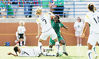 Eniola Aluko appeals for a penalty kick...Saint Louis Athletica and LA Sol, played to a 0-0 tie at Robert Hermann Stadium in St Louis, MO. April 25 2009.