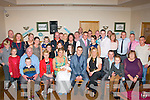 Lorraine McEvoy and Gearoid Lynch,Tralee(seated centre)Christened their new baby Kaylem in St Johns Church,Tralee last Saturday afternoon by Fr Gerard Finnucan and after to a family celebration in the kerin's O'Rahilly's GAA clubhouse,Tralee.