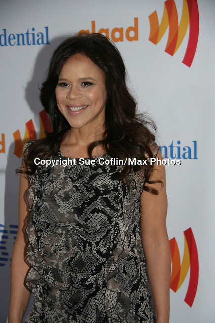 Rosie Perez at the 21st Annual GLAAD Media Awards on March 13, 2010 at the New York Marriott Marquis, New York City, NY. (Photo by Sue Coflin/Max Photos)