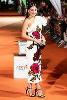 Actress Andrea Duro attends to orange carpet of 'Velvet' during FestVal in Vitoria, Spain. September 04, 2018.(ALTERPHOTOS/Borja B.Hojas) /NortePhoto.com NORTEPHOTOMEXICO