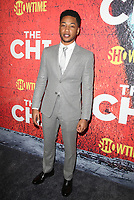 03 January 2018 - Los Angeles, California - Jacob Latimore. Showtime's &quot;The Chi&quot; Los Angeles Premiere held at Downtown Independent.     <br /> CAP/ADM/FS<br /> &copy;FS/ADM/Capital Pictures