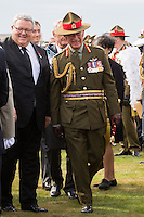Prince Charles of Wales attends the New Zealand Battle of the Somme commemorations - France