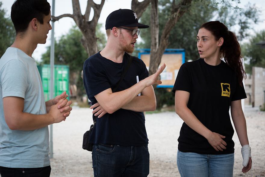 Mitch Moffit and Greg Brown, creators of ASAP Science YouTube Channel visit Kara Tepe Site on the Greek island of Lesvos, where hundreds of refugees are accommodated as they wait to their procedure. Interview subjects include site Dimitra Chamalleli, KT Environmental Health Officer.