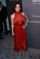 NEW YORK, NY - FEBRUARY 6: Michelle Rodriguez arriving at the 21st annual amfAR Gala New York benefit for AIDS research during New York Fashion Week at Cipriani Wall Street in New York City on February 6, 2019. <br /> CAP/MPI99<br /> &copy;MPI99/Capital Pictures