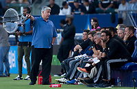 Carson, CA - Saturday July 29, 2017: Sigi Schmid during a Major League Soccer (MLS) game between the Los Angeles Galaxy and the Seattle Sounders FC at StubHub Center.