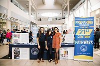 Kailee Gonzalez and Icela Adame attend the Prom Preview 2017 at The Shops at Montebello on April 8, 2017 (Photo by Jason Sean Weiss / Guest of a Guest)