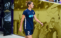 Orlando, FL - Saturday October 14, 2017:  Nora Holstad Berge  during the NWSL Championship match between the North Carolina Courage and the Portland Thorns FC at Orlando City Stadium.