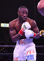 """CARSON, CA- MARCH 9: Yordenis Ugas following his fight against Shawn Porter during the Fox Sports """"PBC on Fox"""" Fight Night at Dignity Health Sports Park on March 9, 2019 in Carson, California. (Photo by Frank Micelotta/Fox Sports/PictureGroup)"""