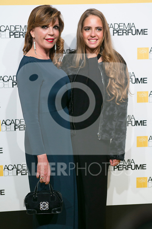 Belinda Washington and her daughter attend the Perfume Academy Awards at Casa de America, Madrid,  Spain. March 17, 2015.(ALTERPHOTOS/)Carlos Dafonte)