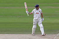 Nick Browne of Essex celebrates scoring fifty runs during Nottinghamshire CCC vs Essex CCC, Specsavers County Championship Division 1 Cricket at Trent Bridge on 1st July 2019
