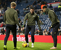 Leeds United's Jack Harrison during the pre-match warm-up <br /> <br /> Photographer David Shipman/CameraSport<br /> <br /> The EFL Sky Bet Championship - West Bromwich Albion v Leeds United - Saturday 10th November 2018 - The Hawthorns - West Bromwich<br /> <br /> World Copyright © 2018 CameraSport. All rights reserved. 43 Linden Ave. Countesthorpe. Leicester. England. LE8 5PG - Tel: +44 (0) 116 277 4147 - admin@camerasport.com - www.camerasport.com