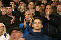 Leeds United fans show their support despite being 4-0 behind<br /> <br /> Photographer David Shipman/CameraSport<br /> <br /> The EFL Sky Bet Championship - West Bromwich Albion v Leeds United - Saturday 10th November 2018 - The Hawthorns - West Bromwich<br /> <br /> World Copyright © 2018 CameraSport. All rights reserved. 43 Linden Ave. Countesthorpe. Leicester. England. LE8 5PG - Tel: +44 (0) 116 277 4147 - admin@camerasport.com - www.camerasport.com